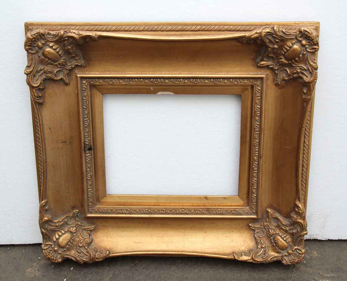 Wood & Gesso Gilded Picture Frame