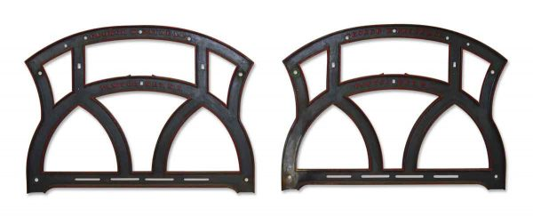 Antique Cast Iron Window or Structural Frames