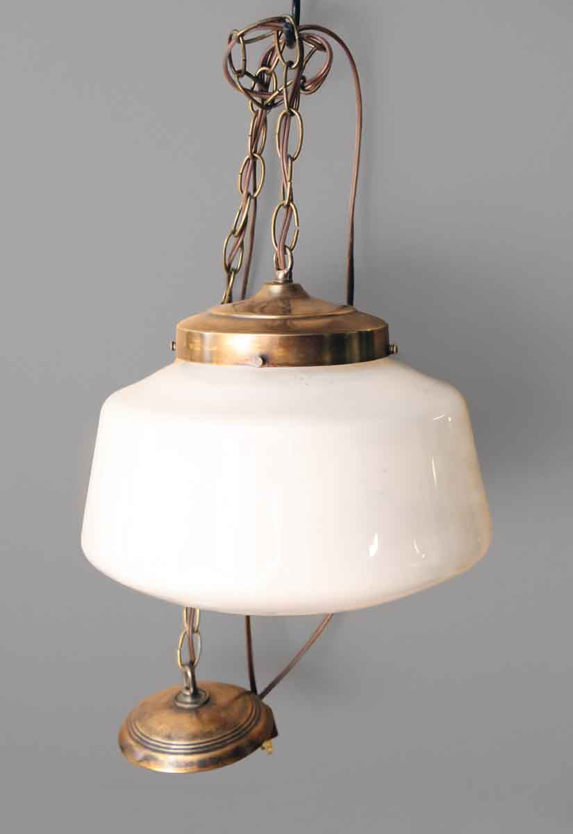 Antique School House Light