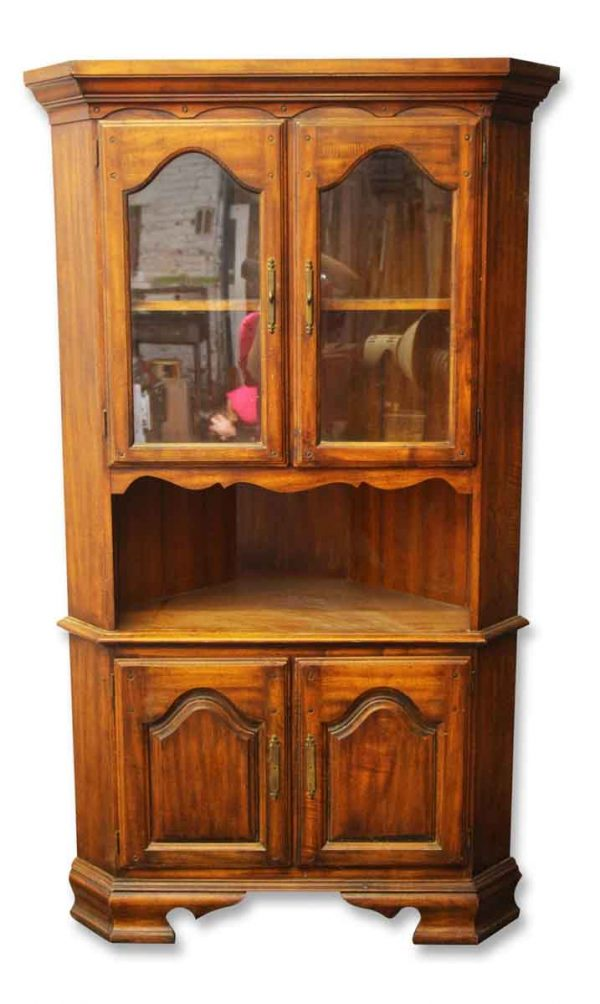 Colonial Style Dining Room Cabinet