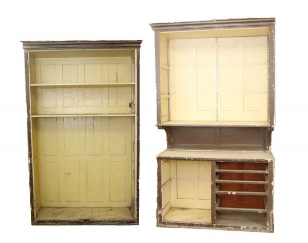 Pair of Large Kitchen Cabinets