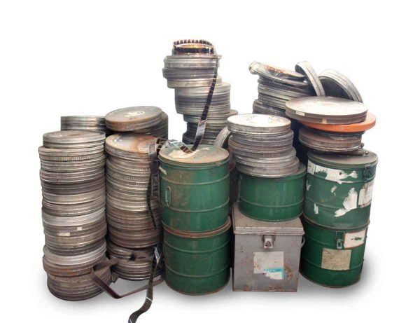 Vintage Chinese 16mm Films with Can