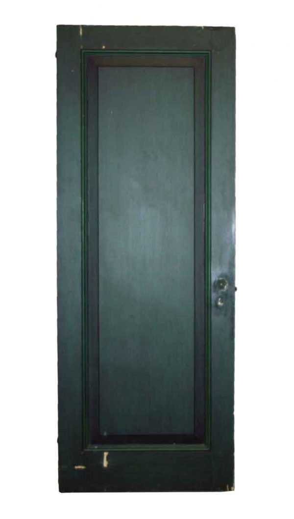 Original Green Salvaged Door