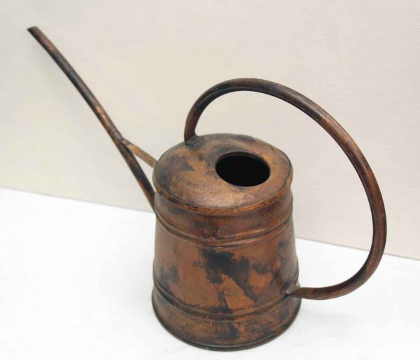 Antique Copper Oil or Water Can