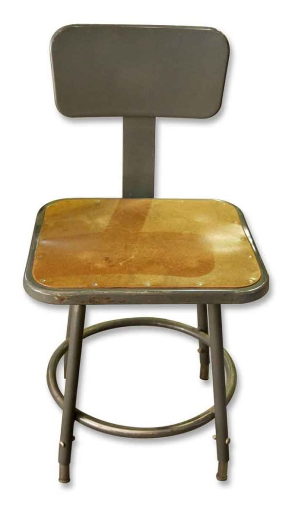 Gray Industrial Chair