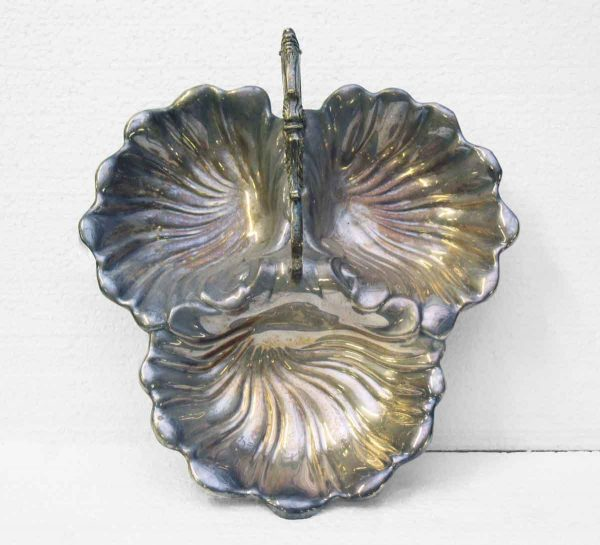 Silver Decorative Metal Candy Dish