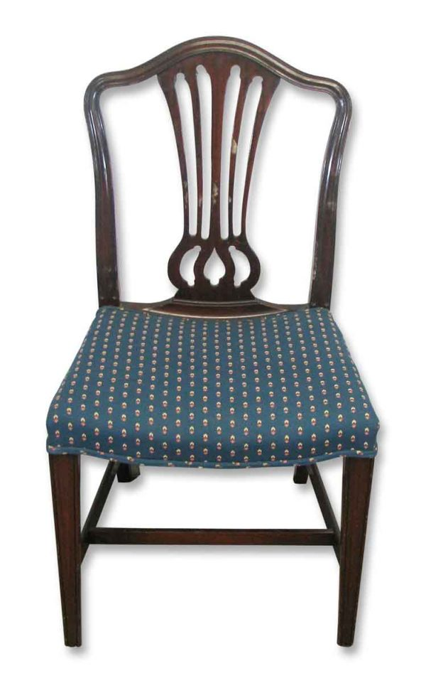 Set of Antique Mahogany Chairs
