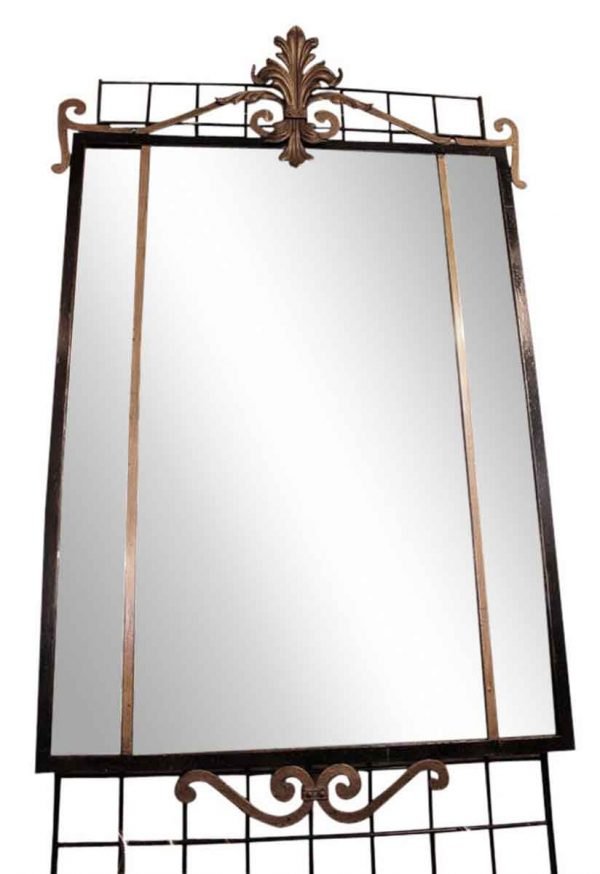 Cast Iron Rectangle Mirror