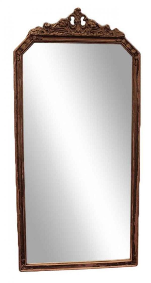 Small Wood Carved Gold Gild Mirror