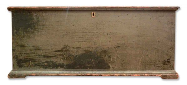 Antique Wooden Painted Hope Chest