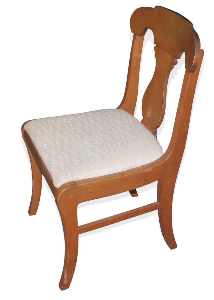 Set of six vintage upholstered dining chairs olde good for Set of 6 dining chairs