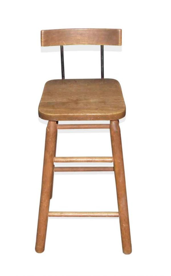 Tall Wooden High Chair or Stool