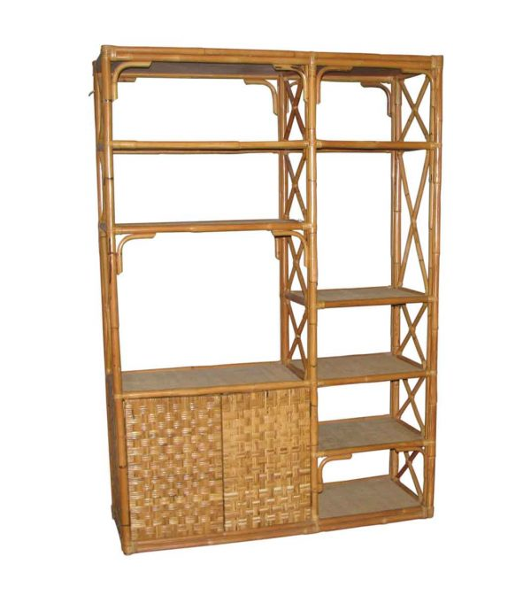 Bamboo Shelf Unit
