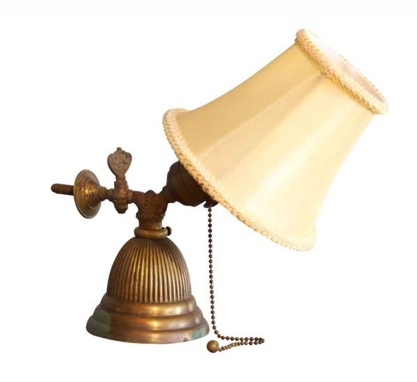 Gas Wall Sconce with Shade