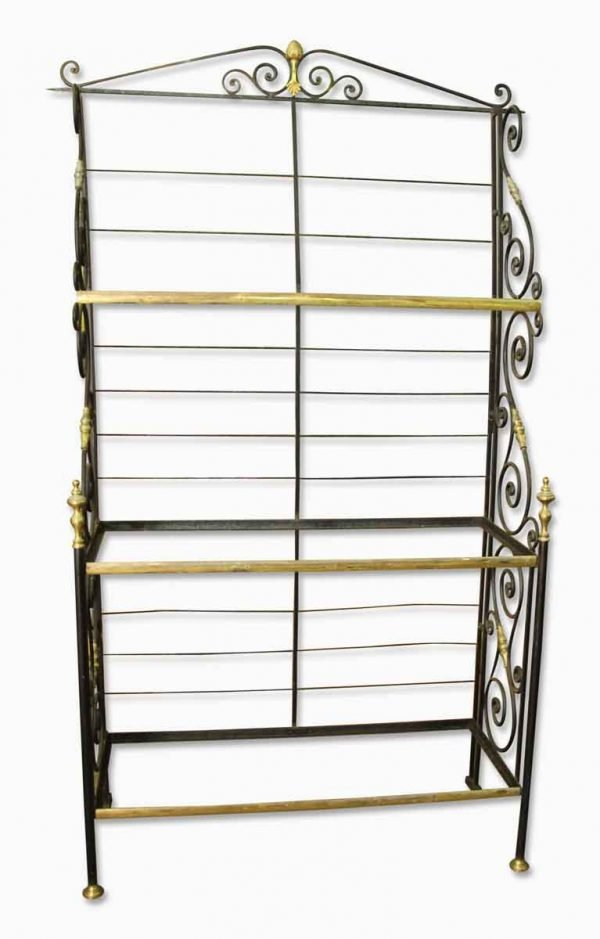 Iron Rack with Brass Details