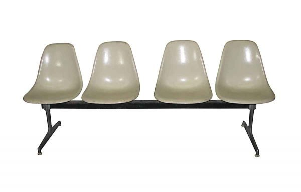 Eames Style Egg Carton Chair Bench