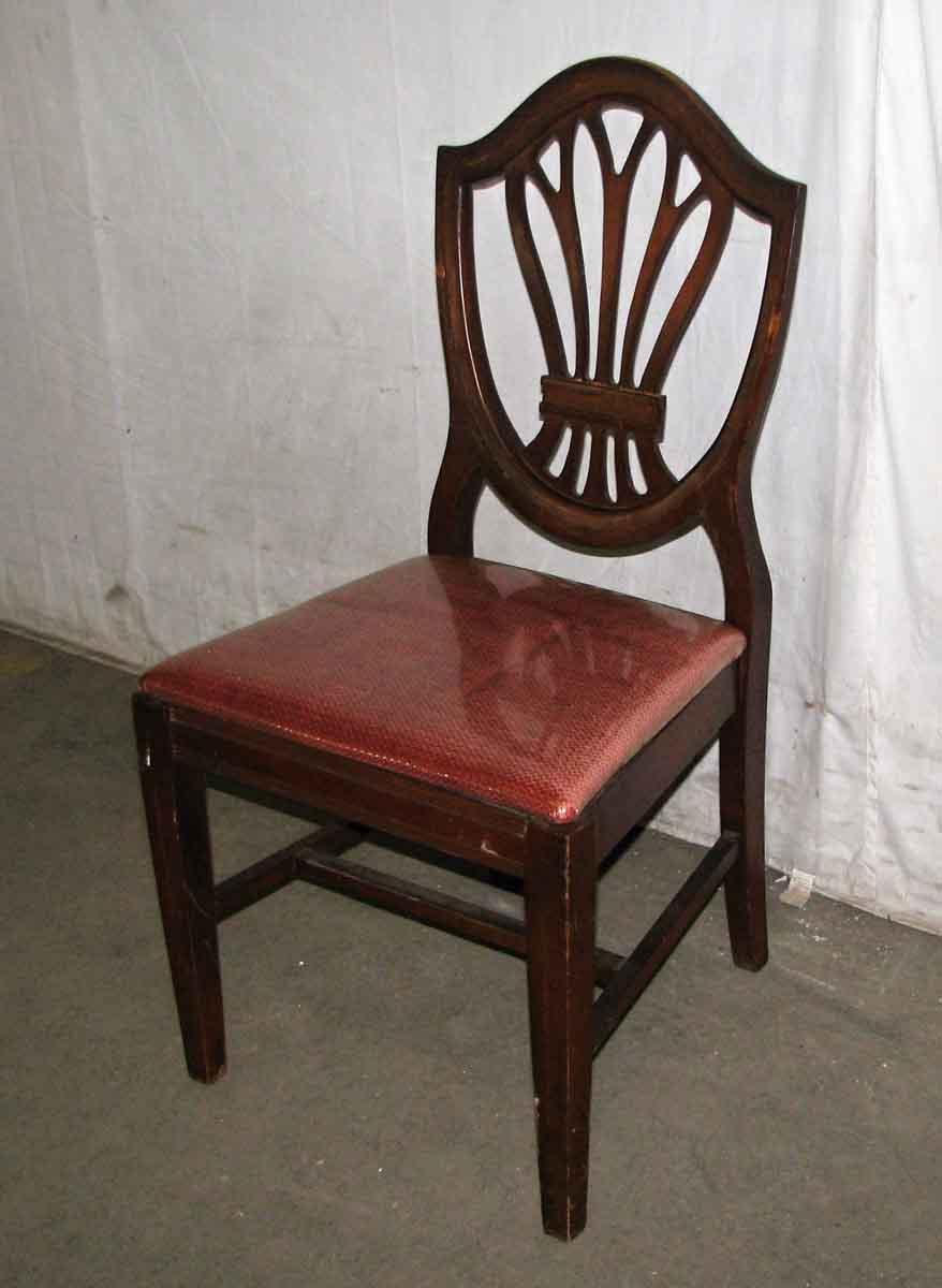 Classic Mahogany Dining Chairs Olde Good Things