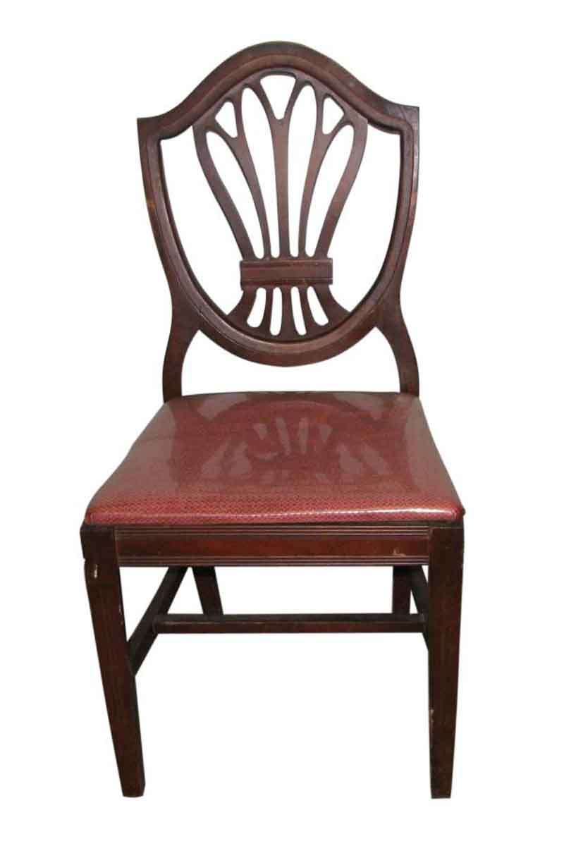Classic mahogany dining chairs olde good things for Classic home chairs
