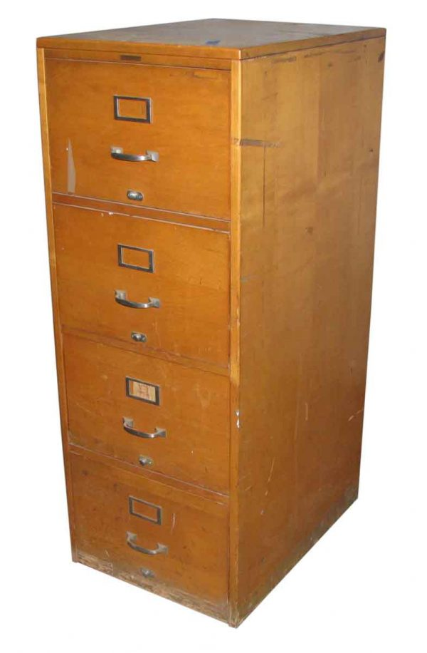Antique Maple File Cabinets