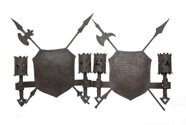 Early Wrought Iron Sconces