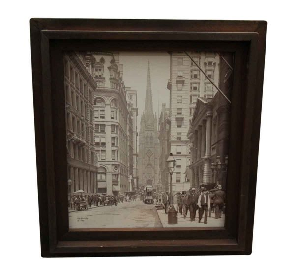 Original Nyc Photo Transferred on Canvas