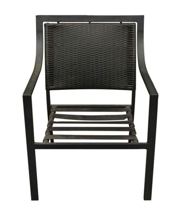 Low Slung Outdoor Metal Chair