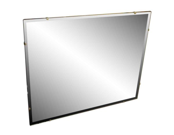 1950s Simple Rectangular Mirror
