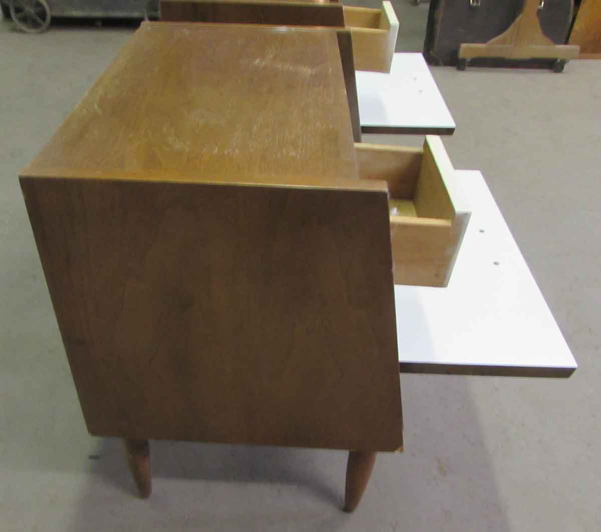 Pair of Mid Century Bed Side Tables