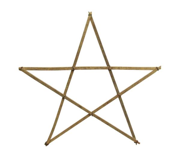 Primitive Wood Star from Austin Texas