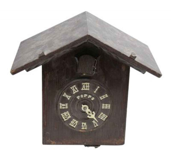 Antique Wooden Cuckoo Clock