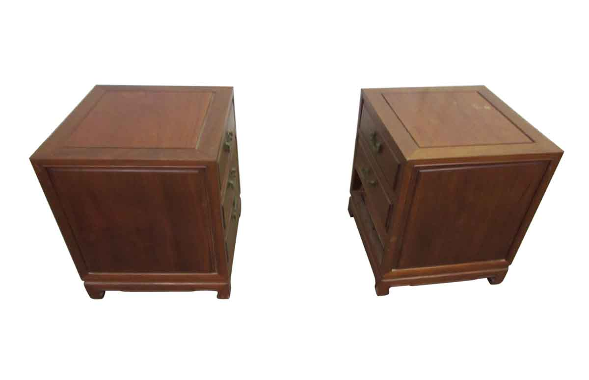 Superb img of Solid Wood End Tables or Night Stands Olde Good Things with #47291C color and 1200x776 pixels