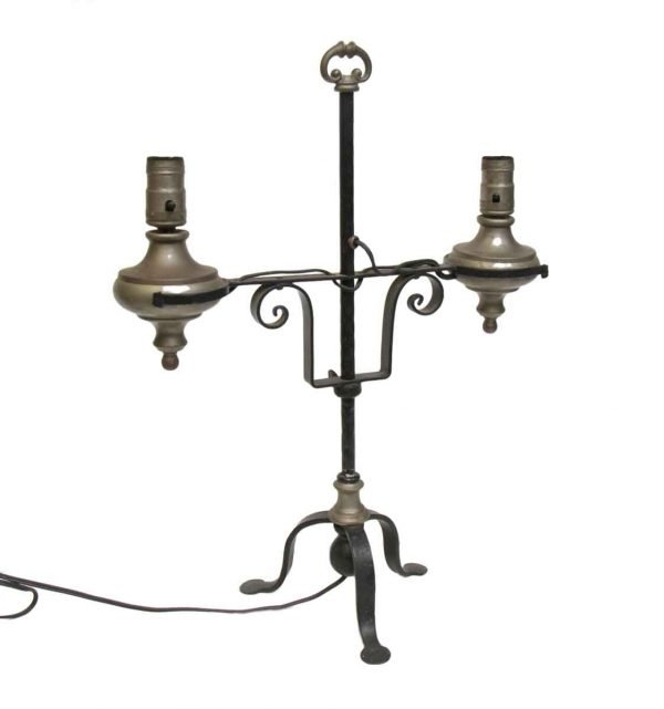 Double Arm Turn of the Century Table Lamp