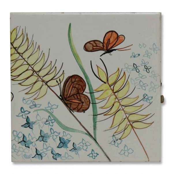 Cute Butterfly Ceramic Tile