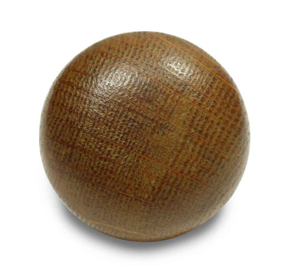 Small Round Collectors Quality Wooden Knob