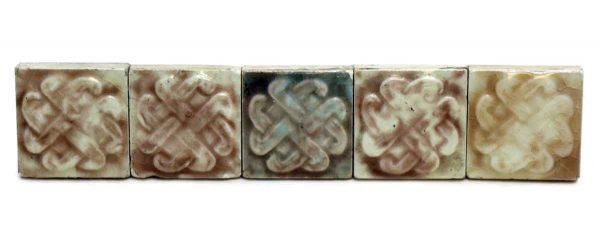 Set of 9 Small Decorative Tiles