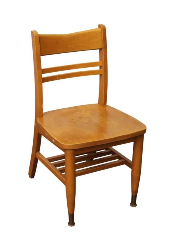Set of School Wooden Chairs