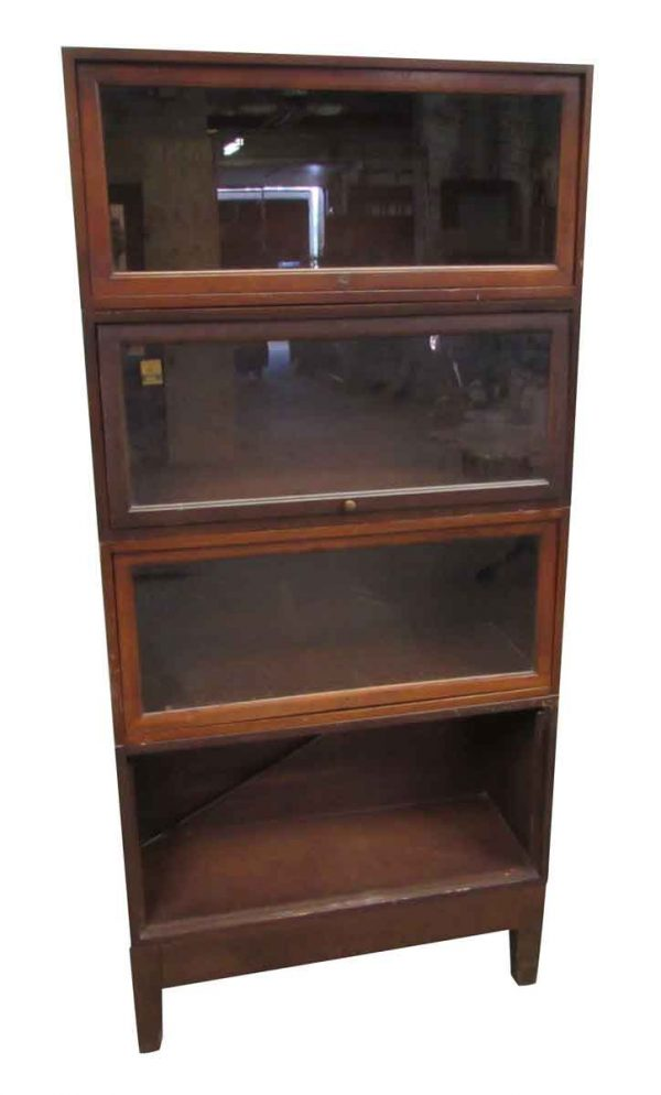 Antique Barrister Style Bookcase