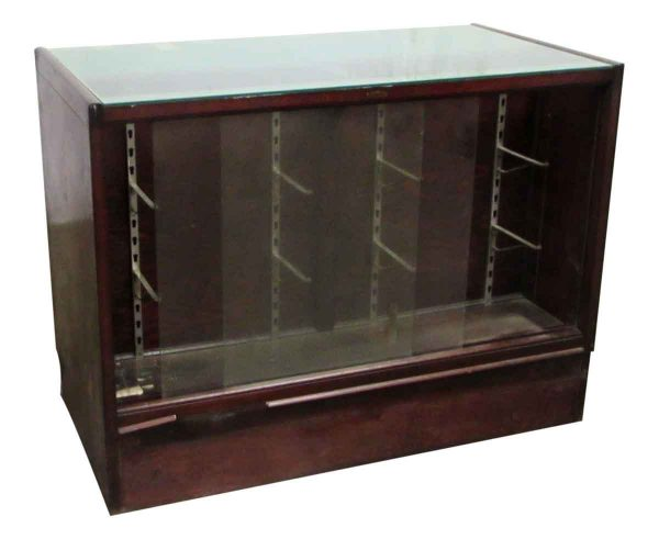 Store Counter with Front Facing Show Case
