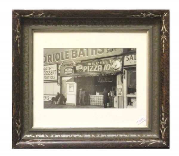 Original Photo of Coney Island Pizza Stand by George Daniell