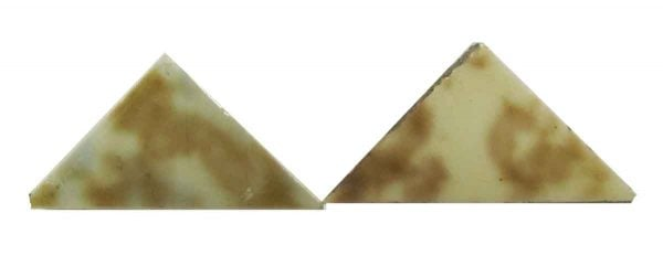 Brown & Cream Triangle Tiles