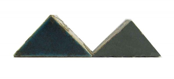Blue Small Matted Triangles