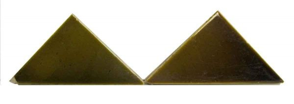 Olive Triangle Tiles