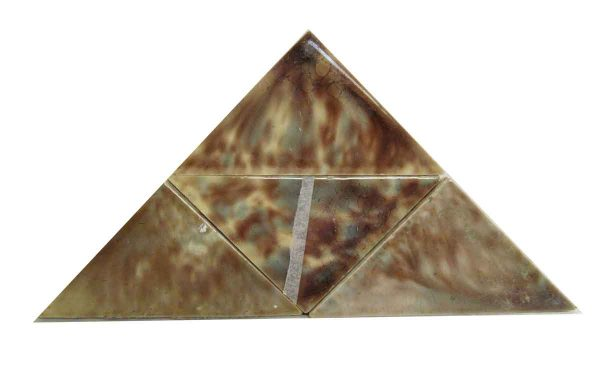 Brown & Gray Mix Triangle Tiles