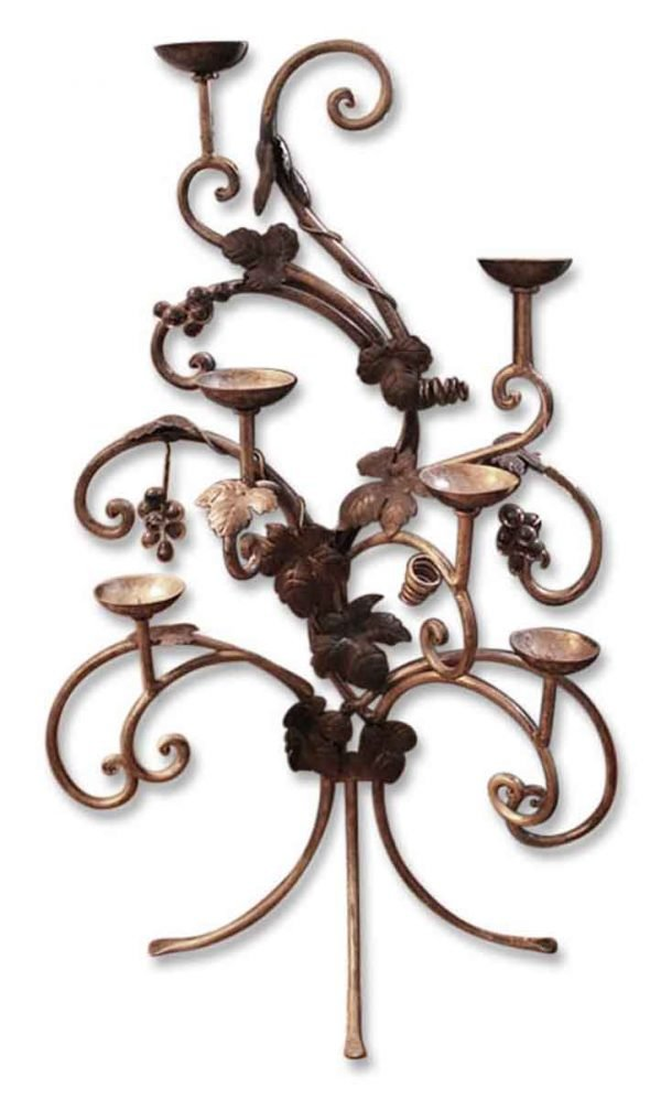 Grape Motif Candelabra