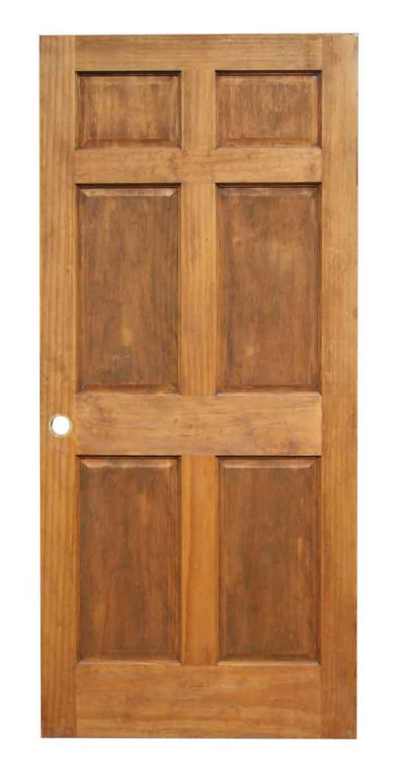 Single Six Panel Door