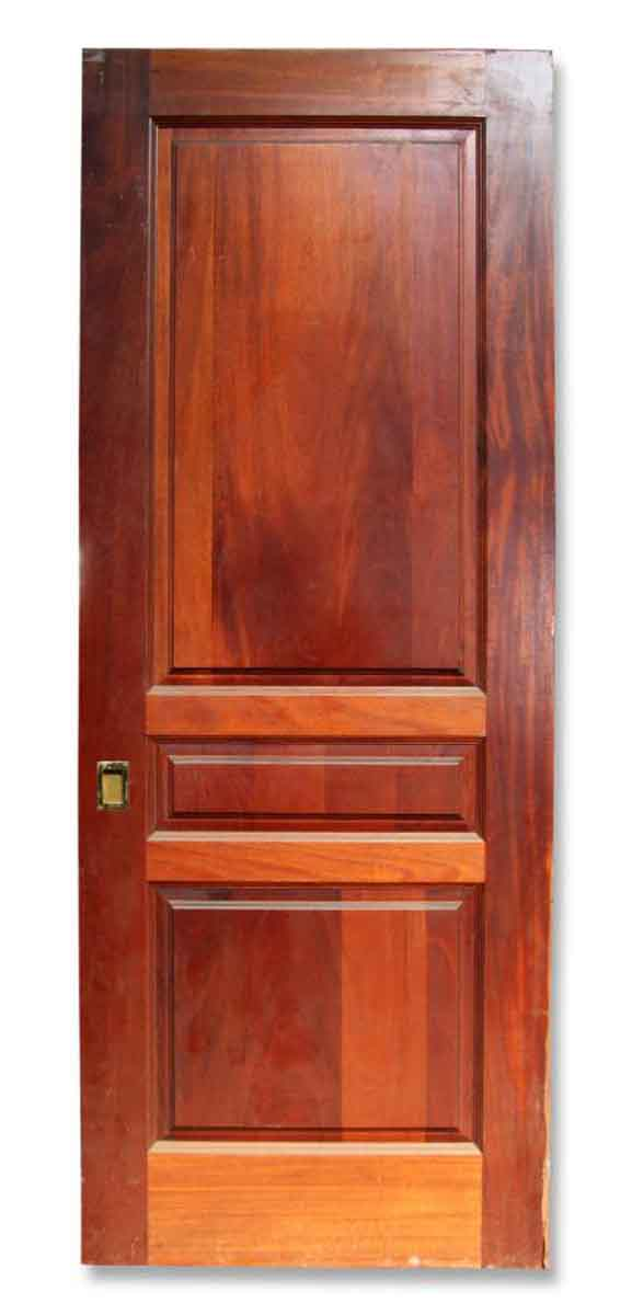Single Three Paneled Pocket Door