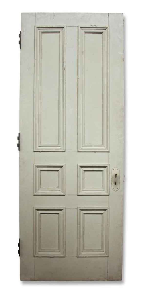 Salvaged Six Paneled Door