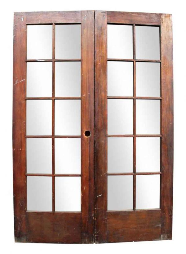 Pair of Double Wooden Doors