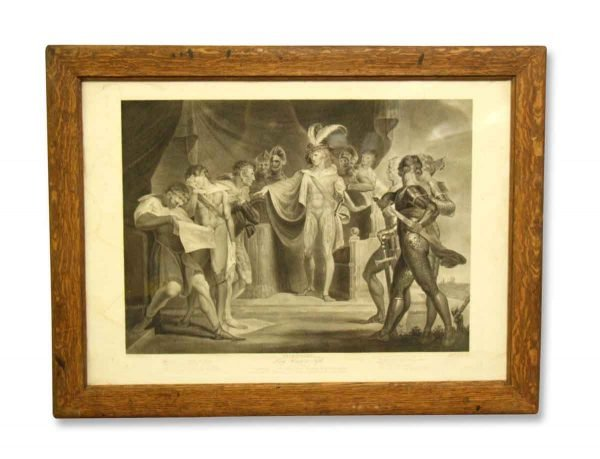 Shakespeare Framed Print of King Henry the Fifth