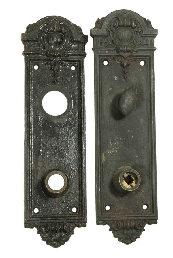 Pair of Ornate Backplates
